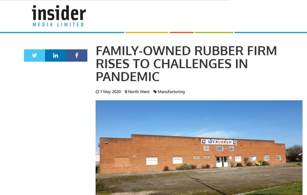 Ley Rubber in the media